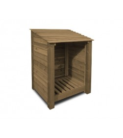 SINGLE BAY 4FT LOG STORE