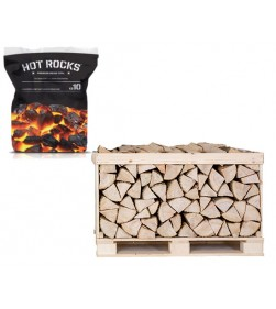 HALF CRATE LOGS AND 240KG HOUSE COAL COMBO