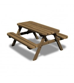 OAKFORD JUNIOR 3 FT PICNIC TABLE AND BENCH