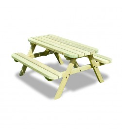 OAKFORD JUNIOR 4 FT PICNIC TABLE AND BENCH