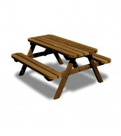 OAKFORD JUNIOR 5 FT PICNIC TABLE AND BENCH