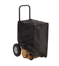 LOG CART WITH COVER