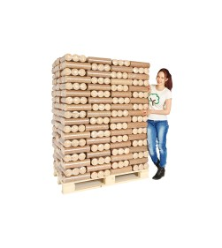 240KG ECO BRIQUETTE HEAT LOGS