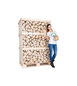 ASH CRATE KILN DRIED LOGS