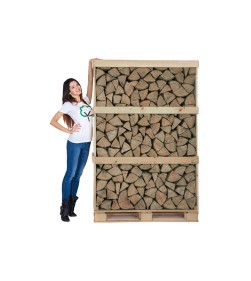 OAK CRATE KILN DRIED LOGS