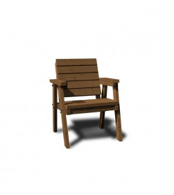 SINGLE THISTLE CHAIR BROWN