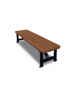 8 FOOT KETTLE BENCH BROWN