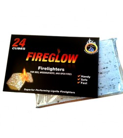FIREGLOW PARAFFIN LIGHTERS 24 PCS
